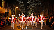 Holiday dancers