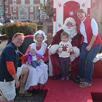 Santa on the Square