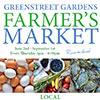 Greenstreet Gardens Farmers' Market flyer.