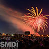 Red White and BOOM fireworks at Wicomico County Stadium