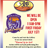 1st Friday at Arts by the Bay Gallery poster