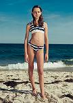 Image of young girl on beach - Rineke Dijkstra