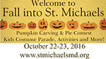 Fall into St. Michaels 2016 flyer