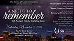 Cade Foundation Family Building Gala flyer