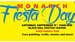 Monarch Fiesta Day flyer