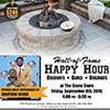 Hall-of-Fame Happy Hour flyer