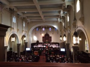 Messiah performed by the Annapolis Chorale in historic St. Anne's Church