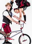 Cirque Mechanics' performers