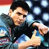 Still of Tom Cruise from Top Gun