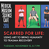 NMHM poster for Scarred for Life event