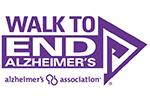 Walk to End Alzheimer's logo