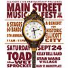 Main Street Music Fest poster art