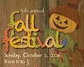Fall Festival 2016 poster artwork