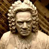 Image of a statue of Bach