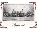 Belmont Manor House ink drawing