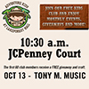 FREE Kids Event with Tony M. Music poster