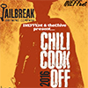 EC Strong Chili Cook-Off poster