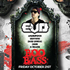 BOO BASS Featuring E-VO event flyer