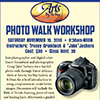 Photo Walk Workshop flyer