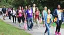 The Alzheimer's Association walk