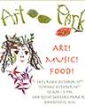 Art-Music-Food Poster Artwork