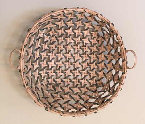 Hand Woven Basket by Mary P Hollis