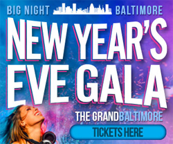 Big Night Baltimore New Year's Eve Extravaganza poster