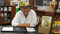 Author Jeff Lowman at Book Signing