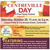 Centreville Day festival flyer
