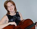 Rachel Young on cello