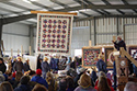 Photo of Amish Quilt Auction