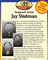 Arts by the Bay - Jay Stutman as featured artist flyer