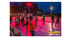 Holiday Skate Rink artwork