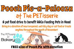 Pooch Pie-a-Palooza flyer