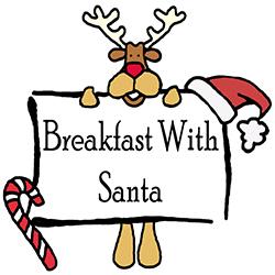 Breakfast With Santa Logo