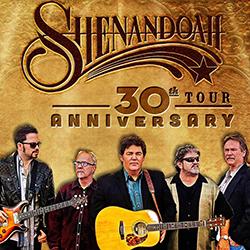 Shenandoah 30th Anniversary Tour flyer