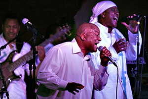 In Gratitude: A Tribute to Earth, Wind & Fire on stage