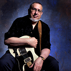 David Bromberg with guitar
