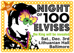 Night of 100 Elvises poster