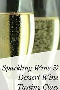 Flyer for Holiday Wine Tasting Class