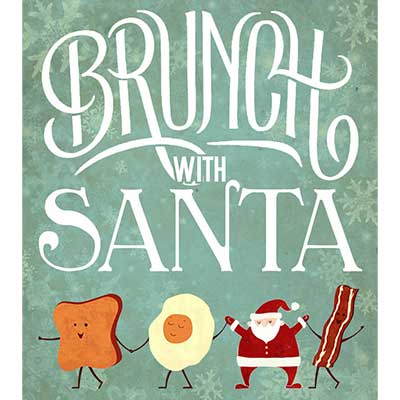 Brunch with Santa poster