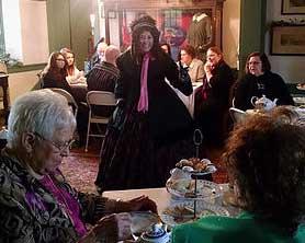 Photo of the Christmas Carol Tea at Steppingstone