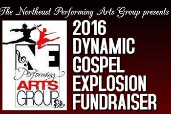 Northeast Performing Arts Group Gospel Explosion poster