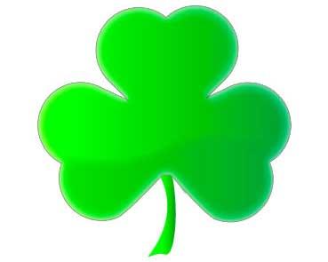 Green shamrock image