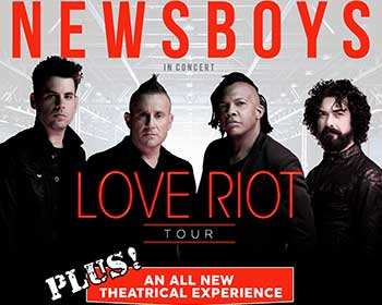 Newsboys Love Riot Tour poster