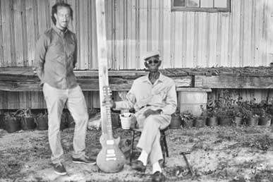 Piedmont Blues in black and white photo