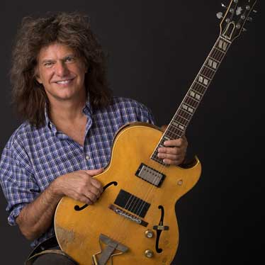 Pat Metheny with guitar