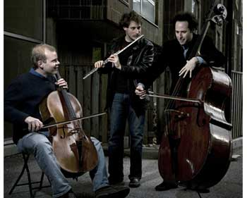 Project Trio performing on the street
