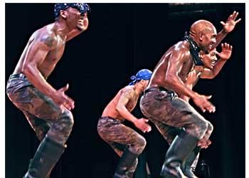Step Afrika! On Stage