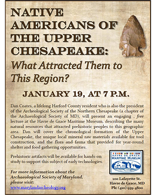 Native Americans of the Upper Chesapeake flyer